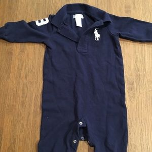 Toddler boys Ralph Lauren onesie